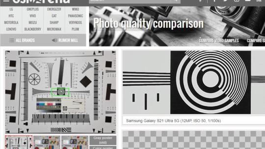 Comparando qualidade de câmeras de celular