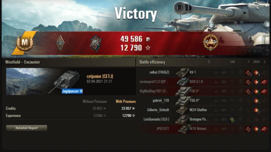 Replay – Jagdpanzer IV, Westfield, Encontro